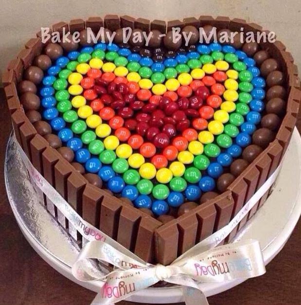 Recipe For Kit Kat Rainbow Cake