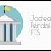 Pendaftaran Online Jalur Mandiri PTS 2018/2019