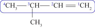 contoh cara memberi nama alkena