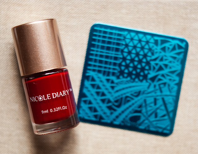 ND110 и краска Nicole Diary 10