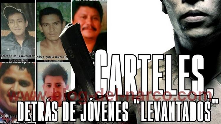 """Veracruz; Carteles, detrás de jóvenes """"levantados"""""""