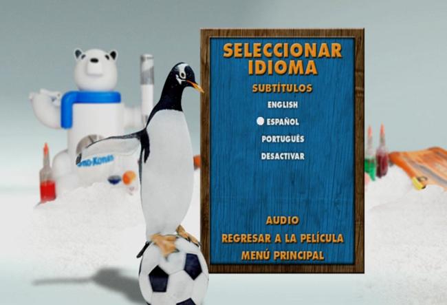 Los Pingüinos de Papá [Mr Poppers Penguins] 2011 DVDR Menu Full [Español Latino] ISO NTSC