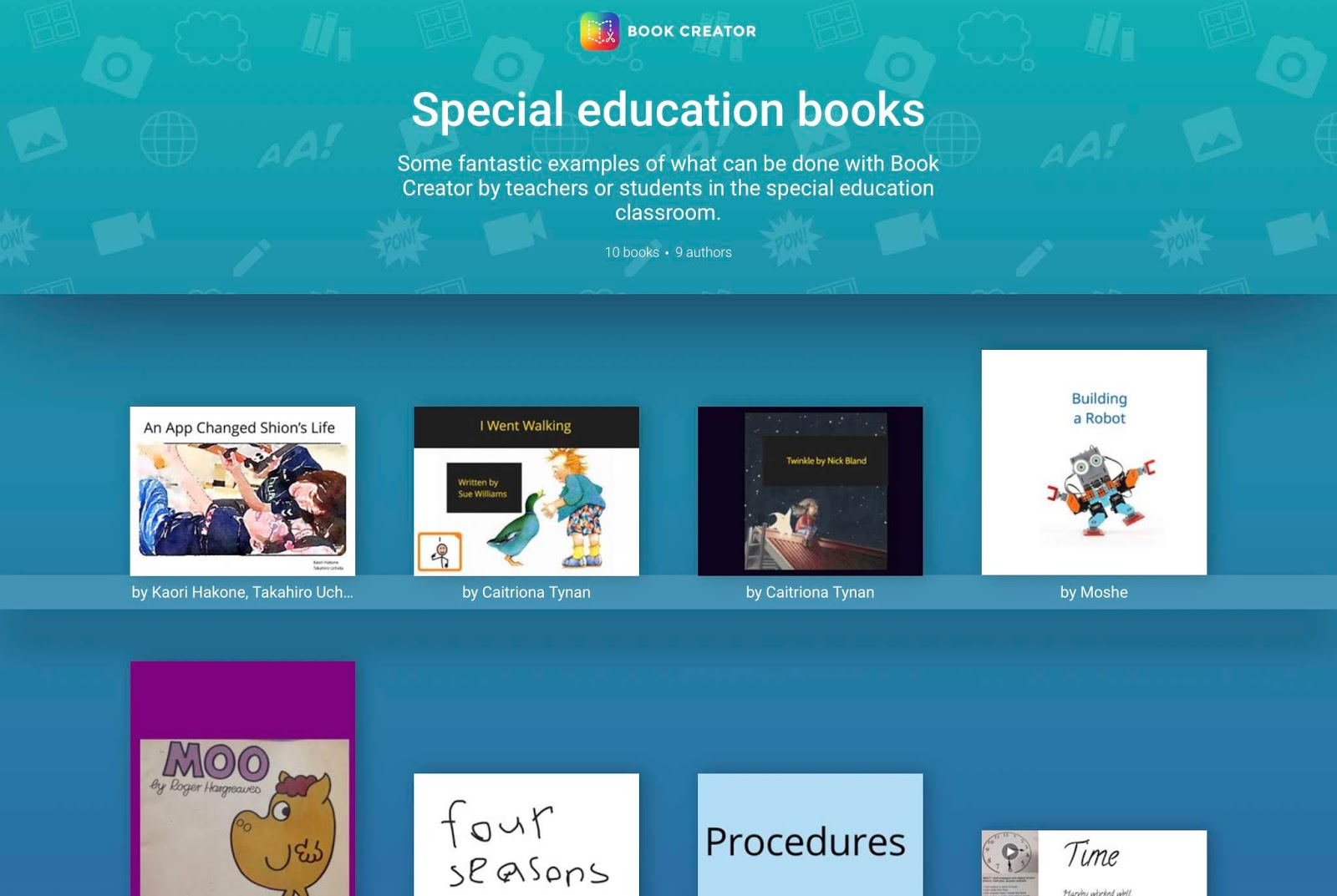 AAC Girls: Book Creator: Create, Read and Publish