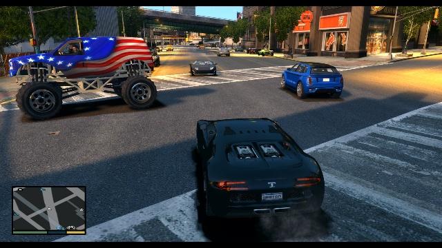 GTA 4 in Style GTA 5 Free Download