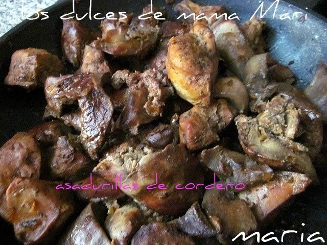Los dulces de mama mari asadurillas de cordero for Cocinar cabeza de cordero