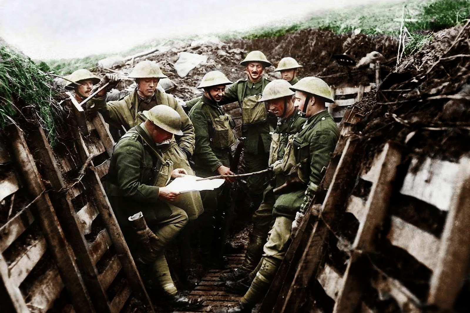 Amazing World War One Images Transformed Into Color