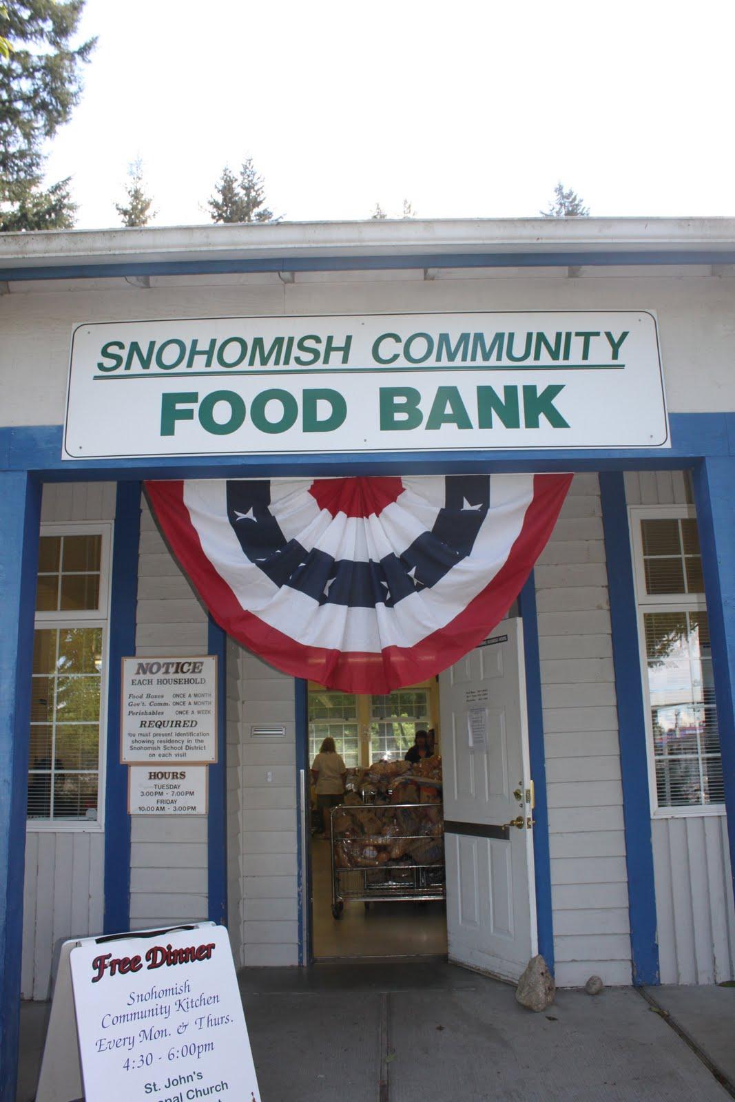 Snohomish Community Food Bank Snohomish Wa