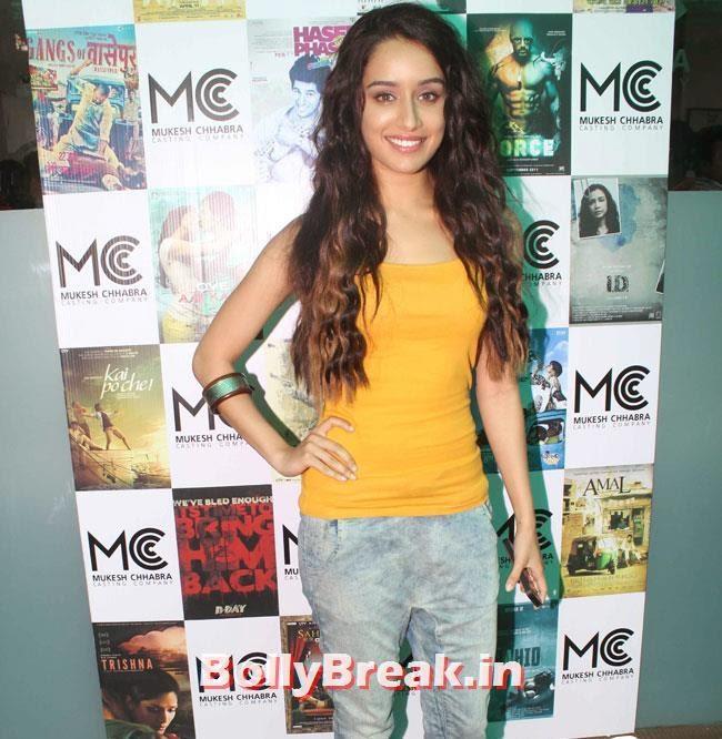 Shradha Kapoor, Shradha  & Aditi at Mukesh Chhabra Casting Studio Launch