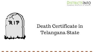 Death Certificate in telangana State