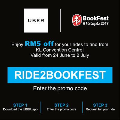 Uber Promo Code KLCC BookFest