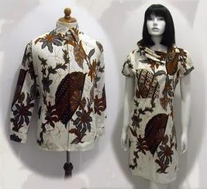 Desain Batik Di Atas Sebenarnya Untuk Copule Atau Pasangan Cowok Dan