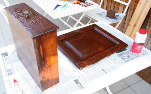 kinderbijou kasten restaurieren 1 teil. Black Bedroom Furniture Sets. Home Design Ideas