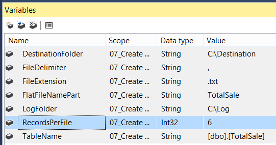 Welcome To TechBrothersIT: How to create multiple flat files