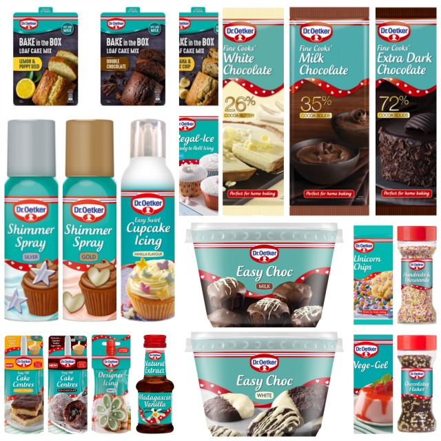 Dr Oetker Baking Bundle Giveaway