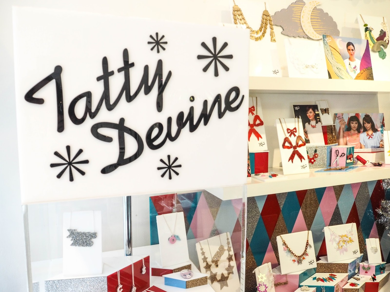 Tatty Devine store, Covent Garden
