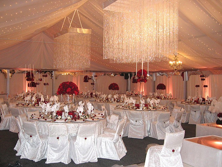 Rainingblossoms Wedding Receptions Tents Decoration: Decorating Your Wedding Tent-Cool, Beautiful, And
