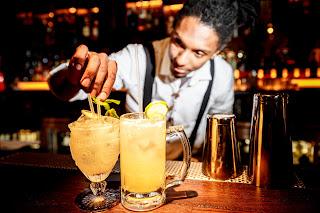 Bounce Shoreditch London Cocktails Bar Tender