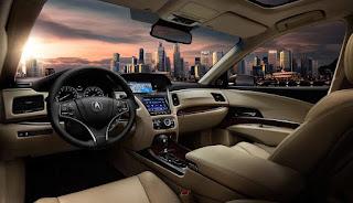 Honda Acura RXL Interiors