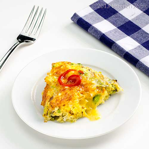 Frittata with Brussels Sprouts