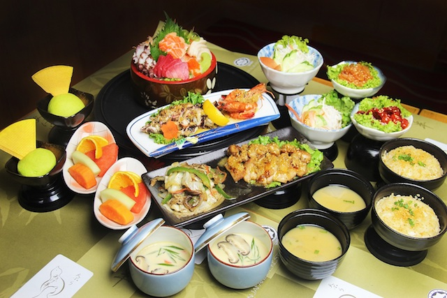 Agehan Set Menu @ Agehan Japanese Restaurant, Grand Bluewave Hotel Shah Alam