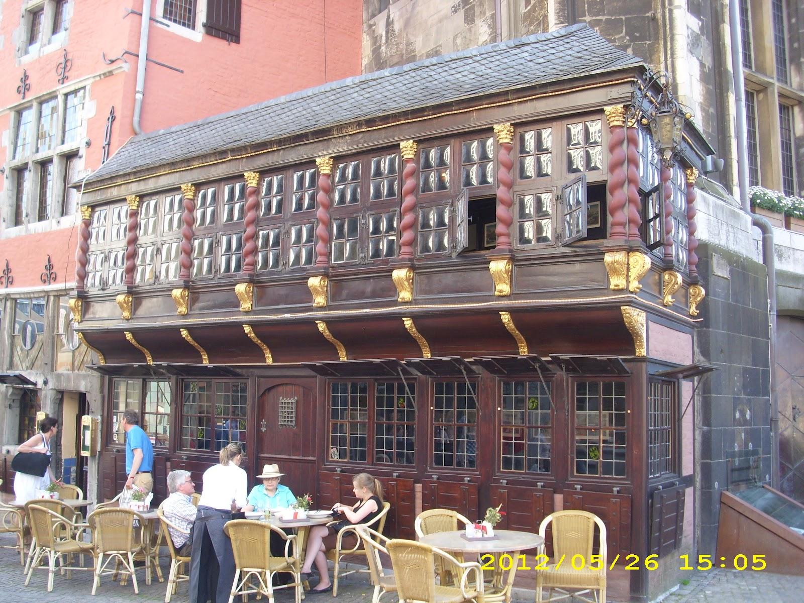 restaurant cafe aachen