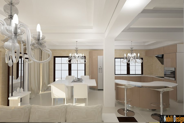 Design interior living modern - Amenajari interioare case moderne