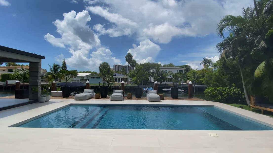 53 Interior Design Photos vs. 1920 NE 119th Rd, North Miami Luxury Home Tour