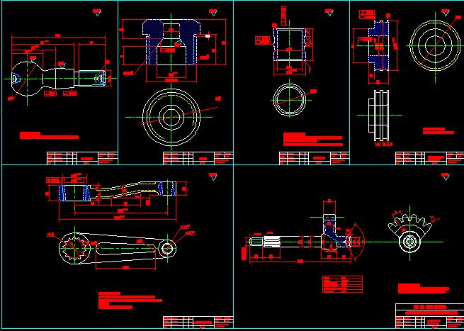 bản vẽ chi tiết hệ thống lái