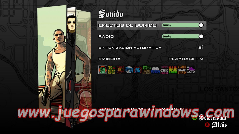 Grand Theft Auto San Andreas ESPAÑOL XBOX 360 (Region FREE) 3