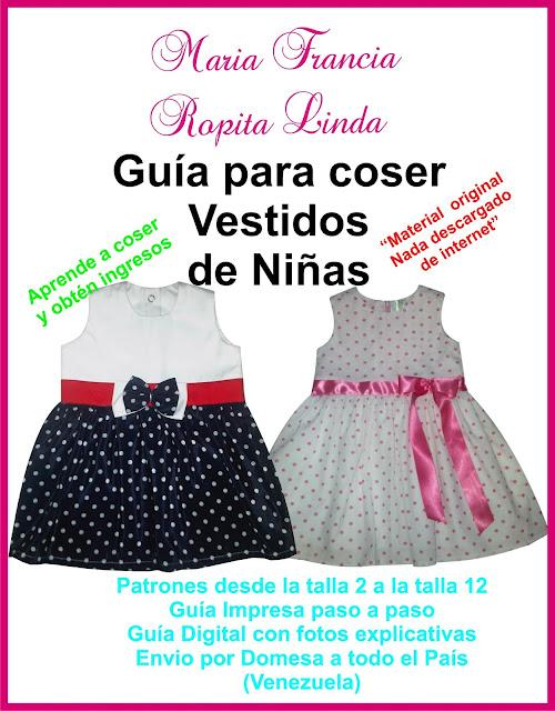 Clases de Costura Ropita Linda Maria Francia