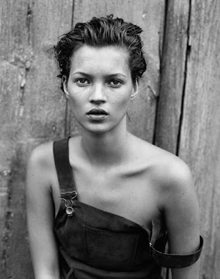 : Kate Moss for Harper's Bazaar, 1994. Photograph: Peter Lindbergh