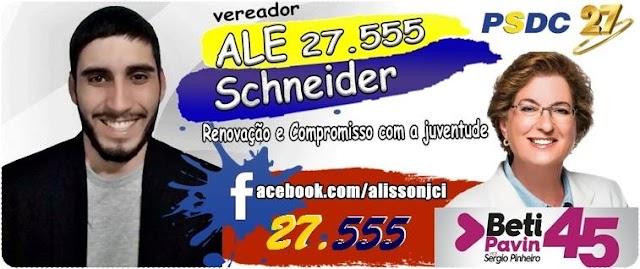 Confira algumas propostas de Ale Schneider Para Colombo
