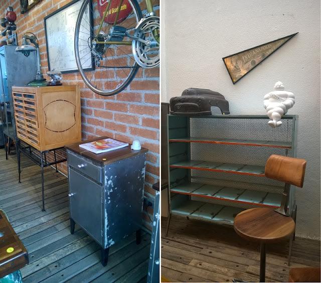 Móveis no estilo industrial e upcycle na Desmobília