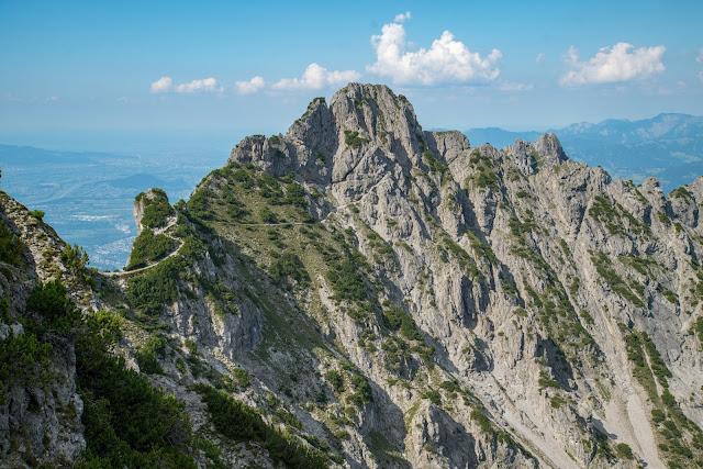 Fürstensteig  Gafadura Hütte - Drei-Schwestern - Gaflei  Wandern in Liechtenstein 14