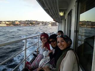 Menikmati Senja di Bosphorus Istanbul