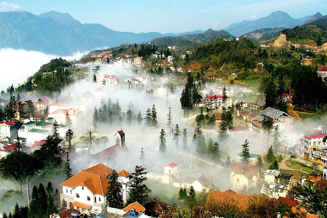 Sapa - great destination to avoid hot summer 1