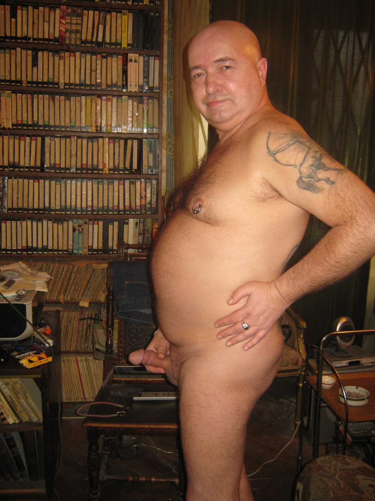 Chubby daddy gay man old
