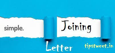 Sample Joining Letter Format, Employment Joining Letter Format
