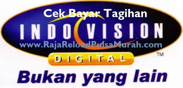 Cara Cek Bayar Tagihan Indovision Via SMS BBM Raja Pulsa