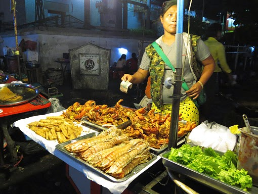chicken and sea food for sale