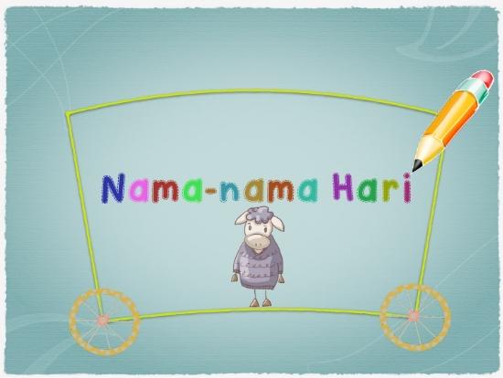 Nama-Nama Hari dalam Bahasa Jawa