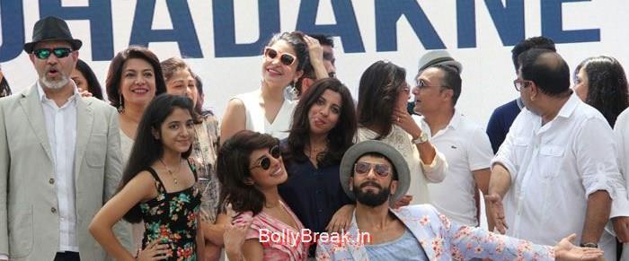 Loy Mendonsa, Adhuna Bhabani Akhtar, Anushka Sharma, Priyanka Chopra, Zoya Akhtar, Ranveer Singh, Shefali Shah, Shankar Mahadevan