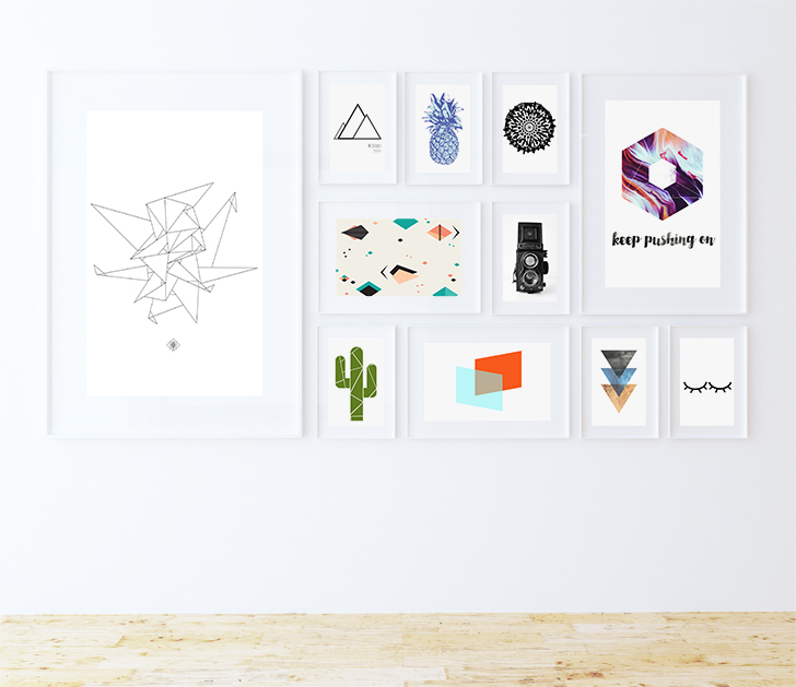 33 Totally Free Modern Art Prints // Fox + Hazel
