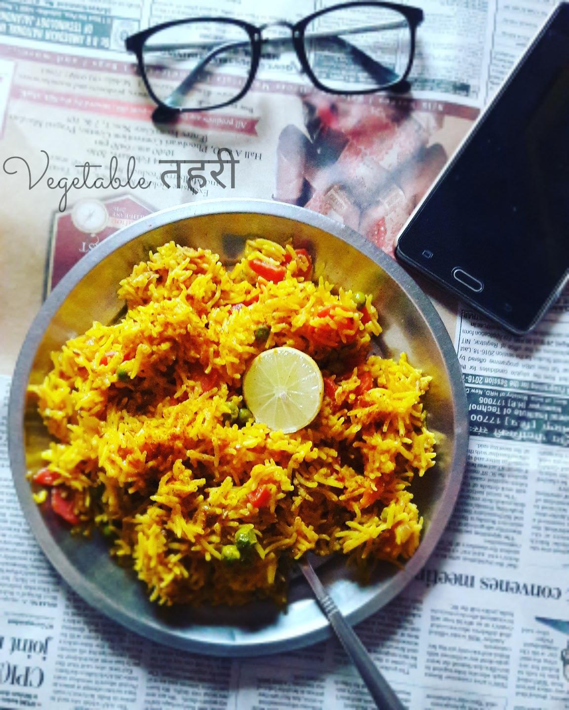 Delish food vegetable tehri for Awadhi cuisine vegetarian