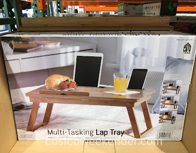 Get some work done on the laptop at home with the Mesa Multi-Tasking Lap Tray