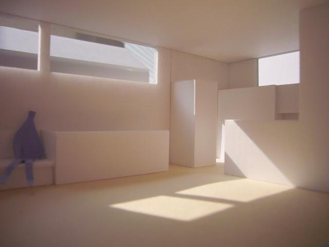 光に満たされる高天井の家 室内の光についての検討2