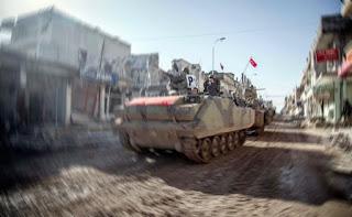 Курдские боевики обстреляли турецких военных в Сирии, погиб солдат