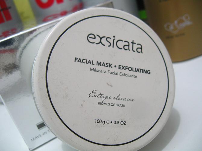 Máscara Facial Esfoliante da Exsicata