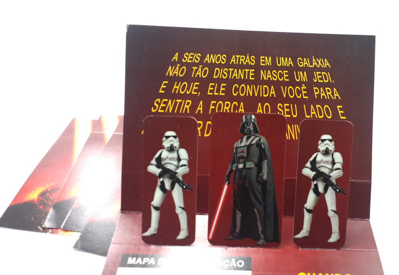 card e personages do star wars