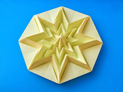 Origami Stella infinita - Star Infinity by Francesco Guarnieri